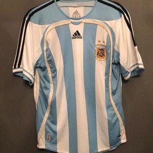 Adidas Argentina men's soccer jersey